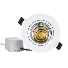 20pc COB מיני 3W 5W 7W 10W LED ספוט אור Downlight ניתן לעמעום שקוע ספוט זה למבואה ארון אמבטיה וכו