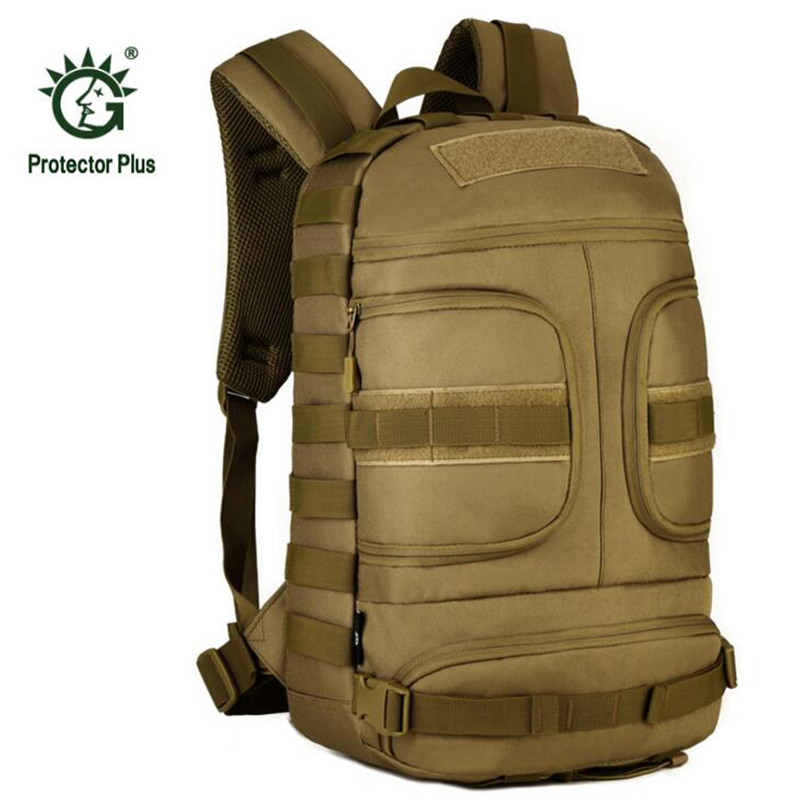 Large Waterproof Military Tactical Backpack Mountaineer Hiking Camping Hunting Backpack Outdoor Sports Bag Rucksack S089 large camping backpack molle tactical military rucksack outdoor sports bag waterproof hiking hunting backpacks camouflage x242wa