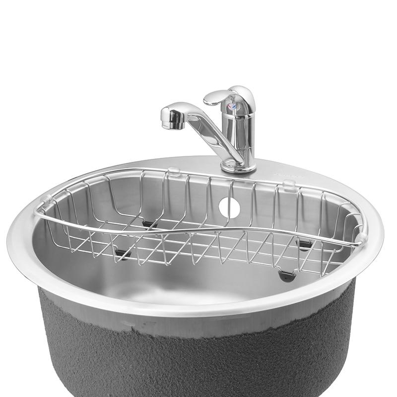 Jomoo Kitchen Sink Drain Basket Rack Strainer Cleaning Filter Water Draining Holder Storage In Bathroom Shelves From Home