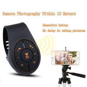 Image 4 - Bluetooth 4,0 Fernbedienung Media Taste Musik Player Controller Auto Kit Für Auto Lenkrad Bike Für IOS Für Android