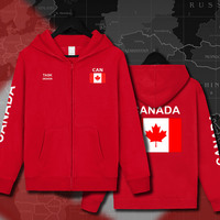 Canada Canadians CA CAN Mens Hoodies Sweatshirts Hoodie Jackets Men Streetwear Hooded Tracksuit Sportswear Clothing Printed