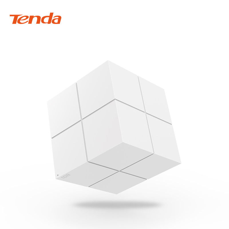 Tenda Nova MW6 Wireless Wifi Mesh Router 11AC Dual Band 2.4Ghz/5.0Ghz Wifi Repeater Mesh WiFi System APP Remote Manage English admin manage
