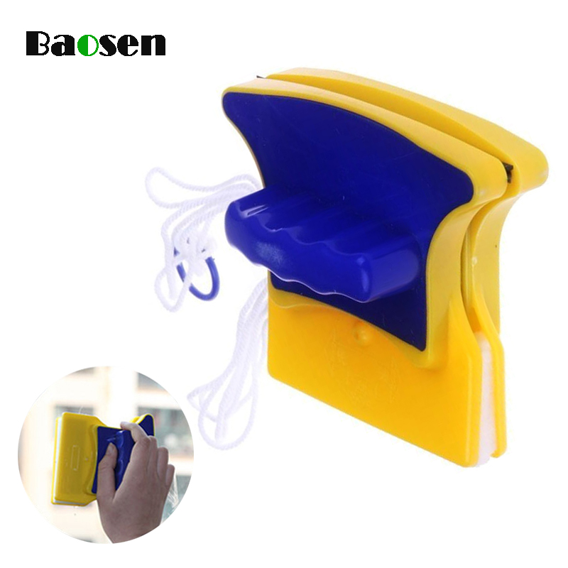 Baosen Double-Sided Magnetic Window Cleaner Glass Cleaning Brushes For Washing Window Brush Household Cleaning Tools Accessories