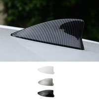 QHCP Car styling Shark Fin Antenna Decoration ABS Baking Finish Radio Signal Aerial Roof Decorative For Lexus UX200 260H 2019