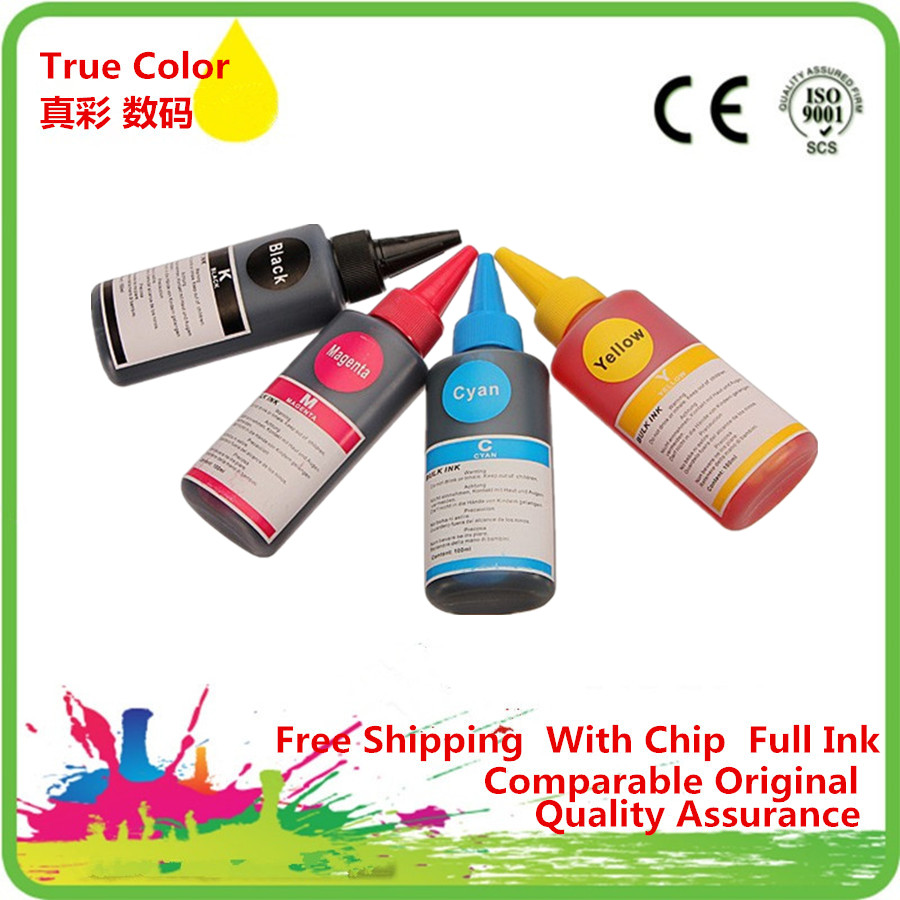 Premium Specialized Color <font><b>Refill</b></font> Dye Ink <font><b>Kit</b></font> 932 <font><b>933</b></font> XL For HP932 Officejet Pro 6100e 6600e 6700 7110 Inkjet Printer image
