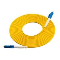100 шт. LC волокно оптический патч корд одномодовое Симплексное оптический соединительный кабель sm 1 м Ftth