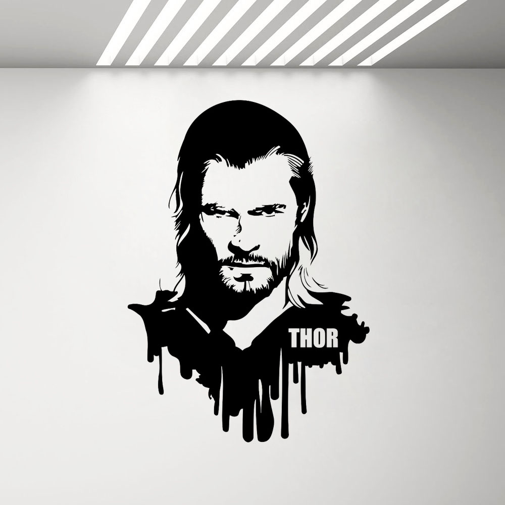 Home Décor THOR WALL ART STICKER Great decal for any room 32 x ...