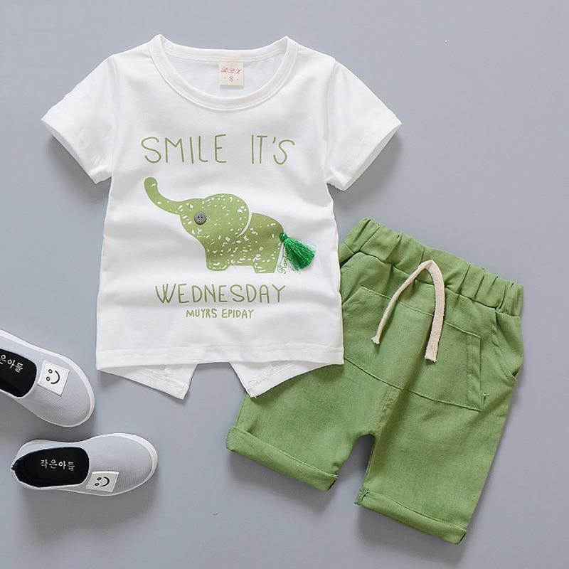 Baby boy kleding set Baby kleding dier Olifant pasgeboren meisje - Babykleding - Foto 2