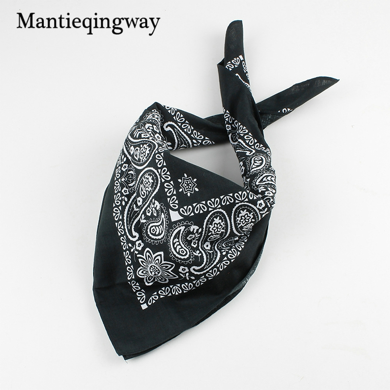 Mantieqingway Fashion Cotton 52cm Pocket Squares For Men High Quality Mens Handkerchiefs Clothing Suits Party Hanky Gifts