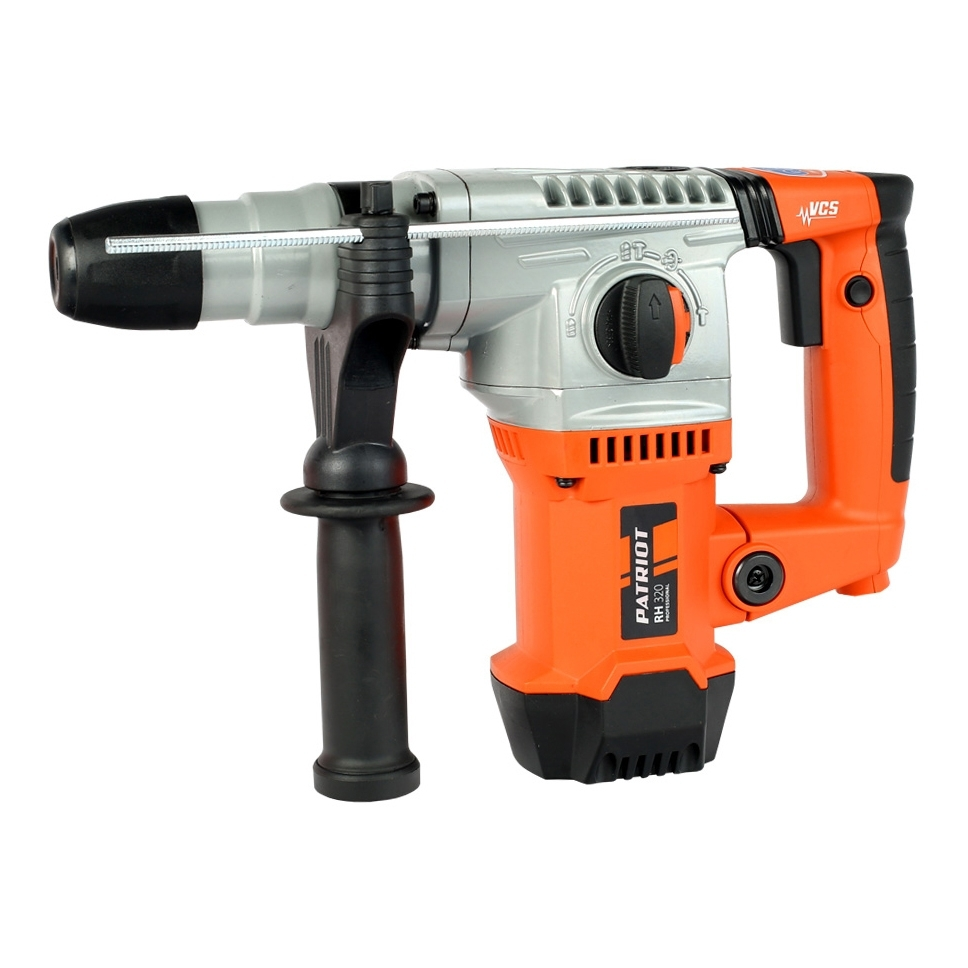 Electric hammer drill PATRIOT RH 320 (1250 W Power, speed 820об/min 3850 beats per minute) hammer electric zubr sop 32 1250 evk