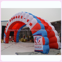 cheap outdoor stage promotional activities arch style inflatable tent for sale
