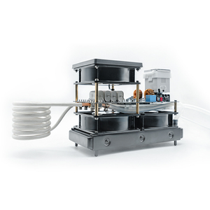 Image 5 - 2500W Media E Alta Frequenza di Riscaldamento a Induzione Piccolo Forno di Riscaldamento a Induzione per Oro E Argento di Fusione 1600C