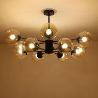 Glass Design Lamp Modern Chandelier luster Living Room Decor Home Lighting Kitchen Dinning Room Light Fixtures Metal E27