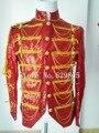 Сияющие Блестки Epaluet Джексон Куртка Танец Этап Одежда MJ Костюм Пальто Плюс Размер Ночной Клуб мужская Верхняя Одежда Певец Костюм