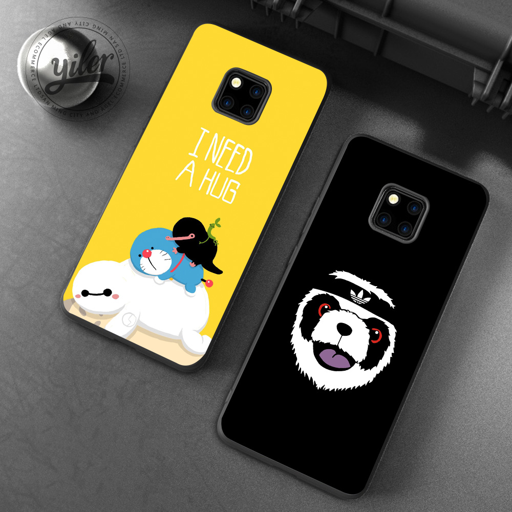 Cute Animal For Huawei Mate 20 Pro Cases for Mate 20 20 lite Mate 10 Pro 10 lite 9 Case for Honor 10 8 9 lite 7X 8X Case Cover in Fitted Cases from Cellphones Telecommunications
