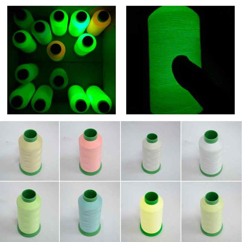 1000 Yards Luminous Glow In The Dark Cross Stitch Embroidery Thread Sewing DIY Handmade Accessories