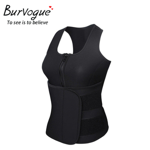 Image 3 - Burvogue חדש ומעצב אפוד נשים מותניים מאמן Thermo גוף מעצב חגורות הרזיה Shaper משרד בקרת מותן Cincher Shapewear בתוספת