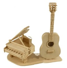 WoodenMusical Instrument Model