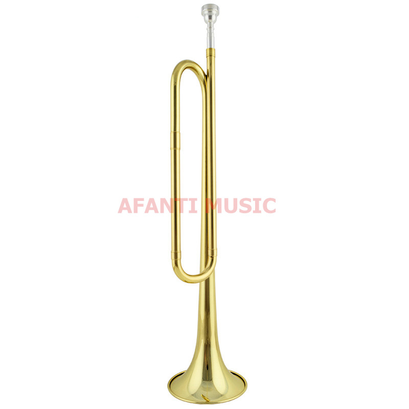 Afanti Music Bb tone / Yellow Brass / Gold Lacquer Trumpet (ATP-105) 13 inch double tone afanti music snare drum sna 109 13
