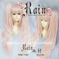 FREE SHIP>>> Danganronpa Dangan Ronpa Junko Enoshima Cosplay Wig with ponytails