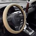 Soft PU de couro volantes capa clássico volante de corrida de carro universal cobre para a 38 CM interior acessórios frete grátis