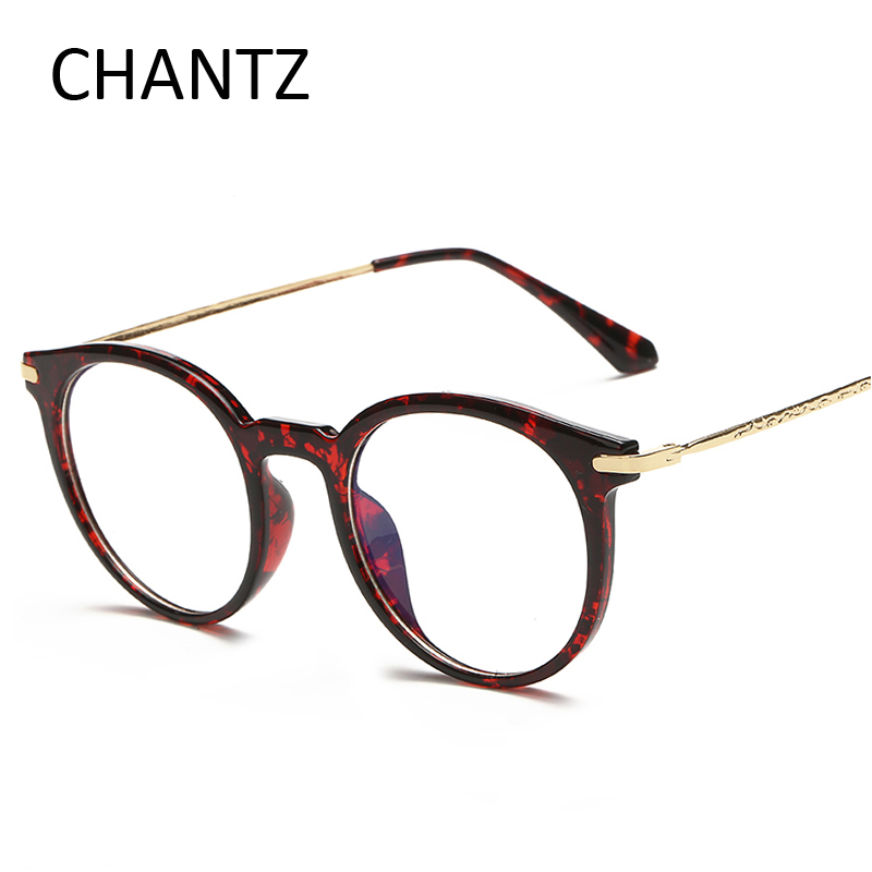 Vintage Oval Eyeglasses Frame With Clear Lens Optical Frames For Eye Glasses Women Mens Spectacles UV400 gafas 5 colors
