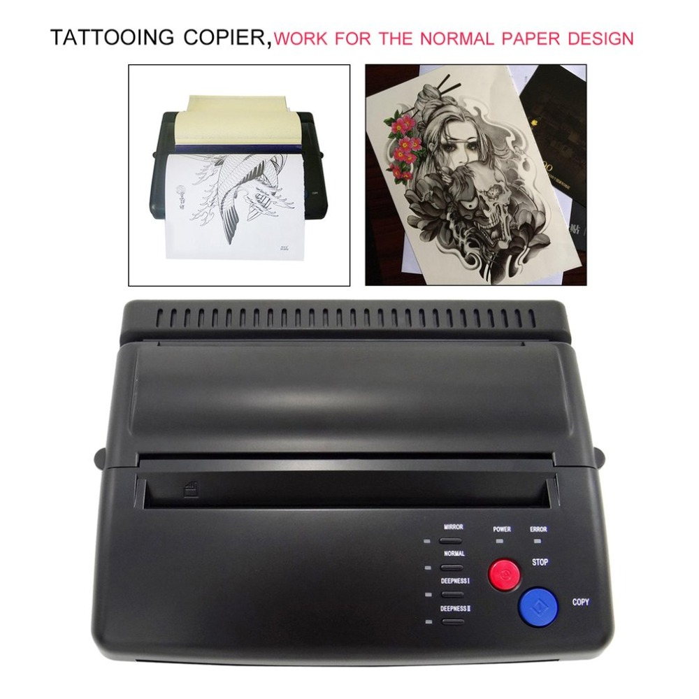 Styling Professional Tattoo Stencil Maker Transfer Machine Flash Thermal Copier font b Printer b font Supplies