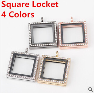 5pcslot hot square box opens with green frames