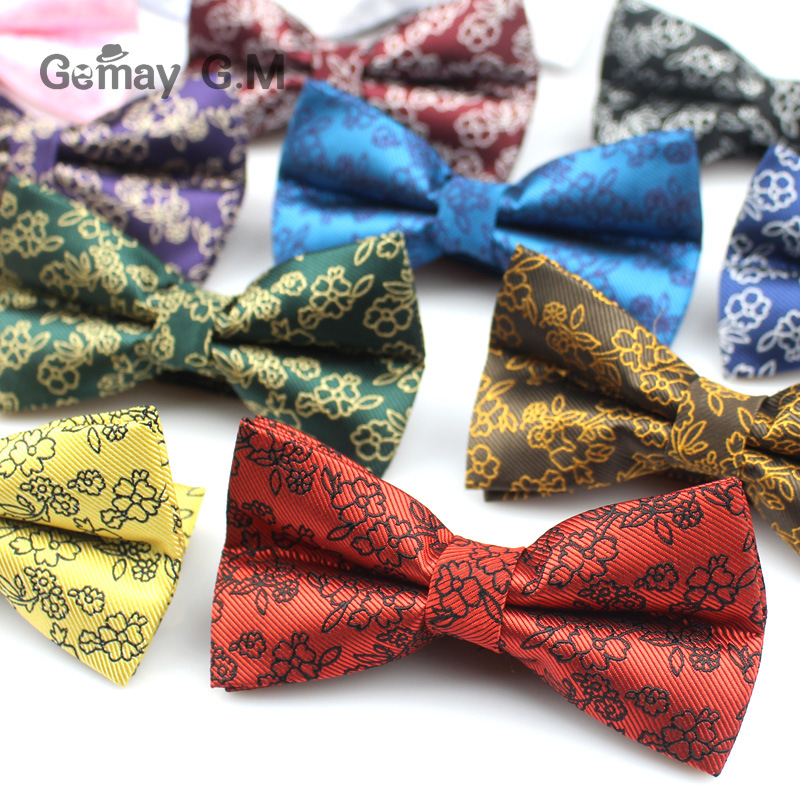 Polyester Men's Bow Tie Brand Polka Dot Bowtie Necktie Business Wedding Neckties Bowtie Vestidos Gravata Borboleta