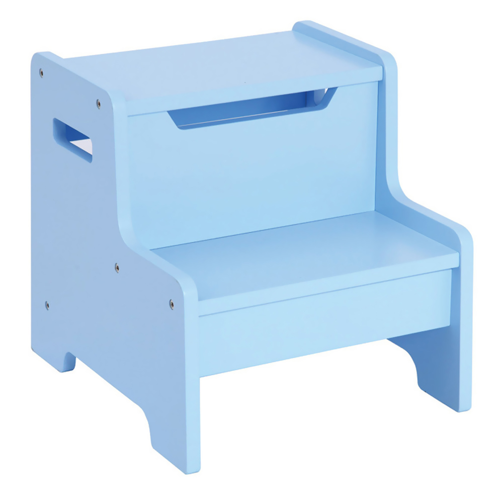GuideCraft Expressions Step Stool: Light Blue guidecraft expressions trophy rack natural