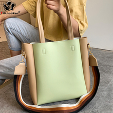 Fashion Ladies Handbags Sets Women Composite Bags Pu Leather Crossbody Bags for Women 2019 Large Capacity Shoulder Bag Women Sac цена и фото