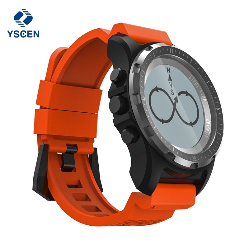 все цены на Smart Watch Men GPS Fitness Tracker Wristwatch Waterproof Compass S966 Smartwatch Sport Clock Heart Rate Monitor for Android IOS