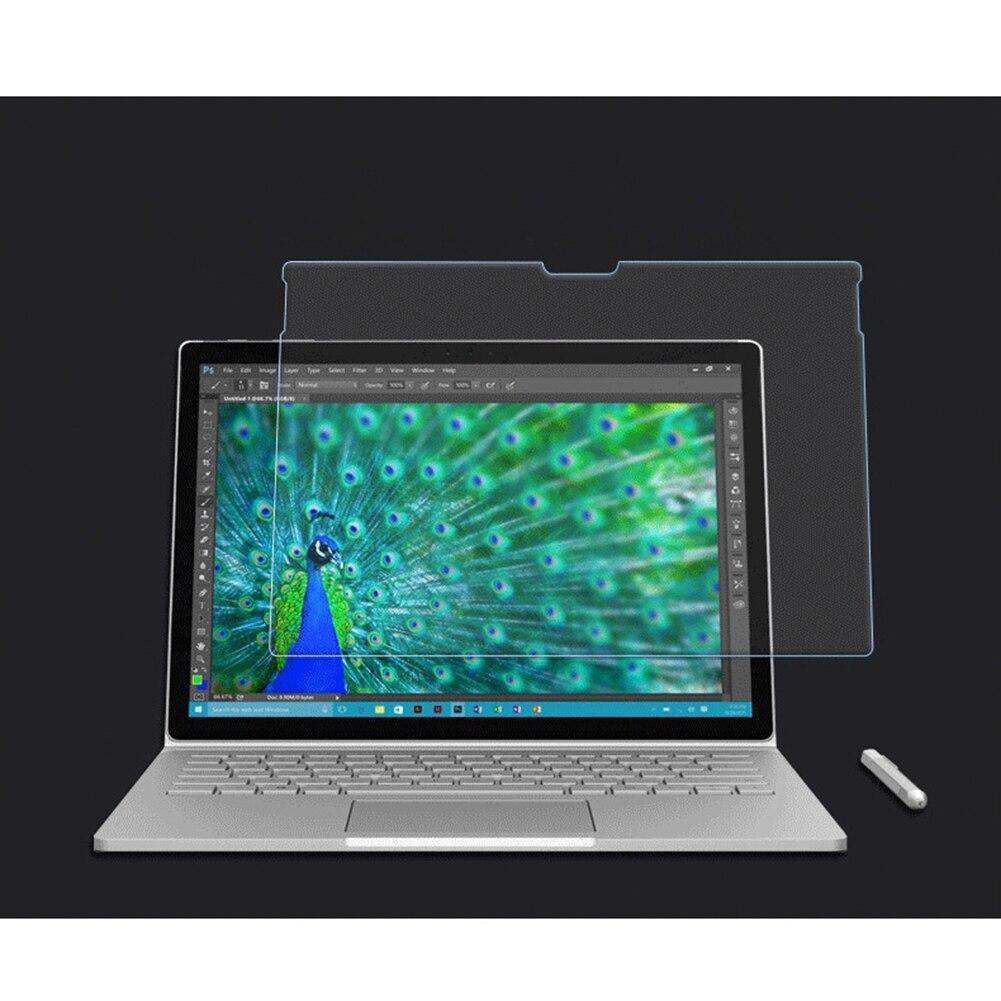 Высокое разрешение 8-9 H Сильный Твердость закаленного Стекло Экран протектор Премиум для Microsoft поверхность книга 13.5 дюймов
