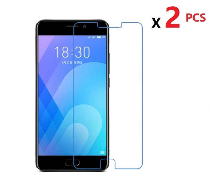 2 PCS High Clear Screen Protector For Meizu M6 M5 Note  Glossy Film Protector  Guard For Meizu M3 M2 M Note