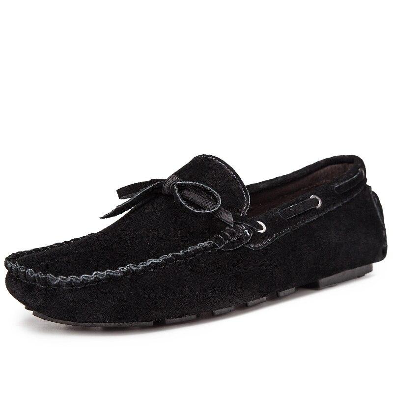 Black Tête Arc En blue Cuir Zapatos Pois Hommes De Ronde Appartements Hombre Chaussures Sx3 brown Daim Casual Sneakers Conduite BoerdCx