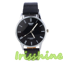 Irisshine A128 Women watches Classic Fashion Woman Roman Number Quartz Electronic Leather Wrist Watch lady girl