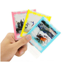 10PCS Lace Photo Decor Borders Photo Protective Bag Pouch Set for Instax Square SQ20 SQ10 SQ6 SP3 Camera Films(China)