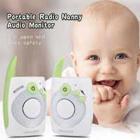 Remote Night Light Baby Monitor Audio Radio Nanny Babysitter Baby Alarm vigila bebes Intercom Baby Phone Baby talkie