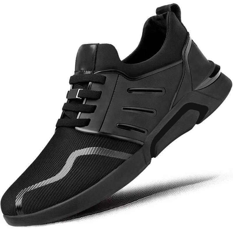 Erkekler rahat koşu ayakkabıları Ilkbahar Sonbahar Nefes Sneakers Erkekler Hava hafif Örgü Spor Açık Ayakkabı Trend Eğitmenler Ayakkabı