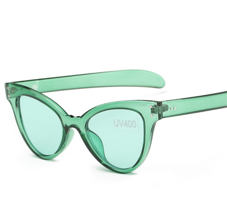 CHUN R9 Kaķu acs vintage saulesbrilles sievietes top modes Candy krāsa sexy cateye saulesbrilles Oculos De Sol Feminino lentes de sol