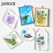 JAVRICK Dried Flowers Leaf UV Resin Decoration Flower Dry Art Decals Epoxy Mold DIY Filling Jewelry