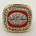 Factory Direct Sale Free Shipping Defective 1969 Kansas City Chiefs World Dawson Championship Ring
