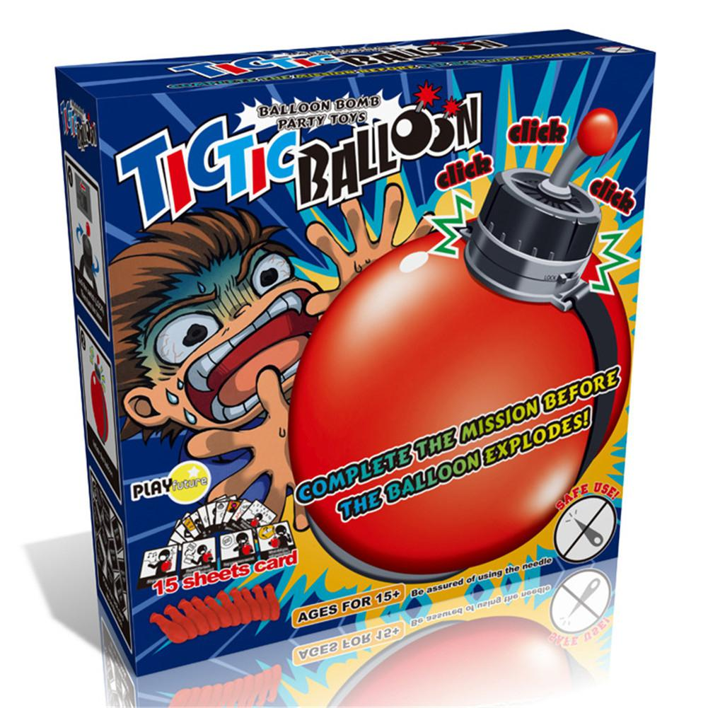 Balloon Timing Bomb Board Game Complete Mission Before Balloon Explodes Balloon Bomb Family Play Game Funny Joke Games image