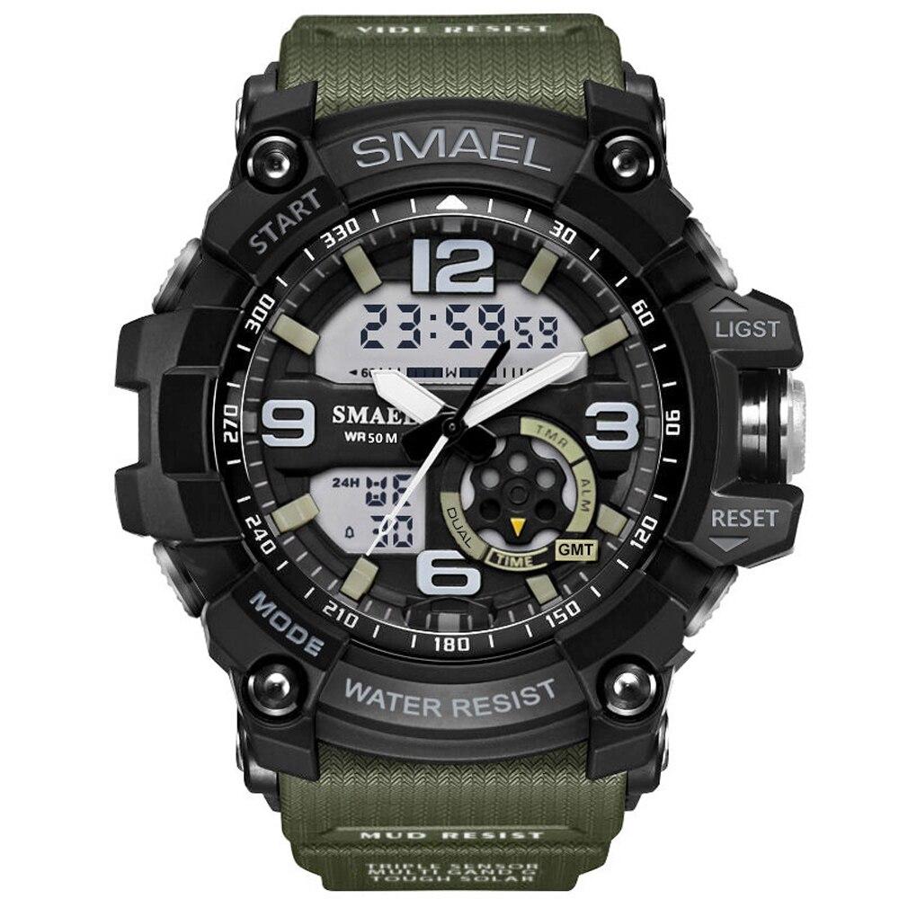 2018 nouveau G Style marque de mode Sport montre hommes étanche Sport militaire montres s-shock hommes de luxe Quartz Led montre numérique