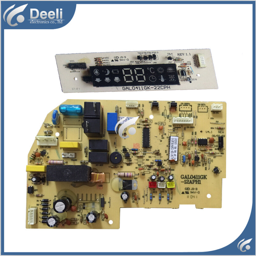 95% new good working for air conditioning motherboard computer board GAL0411GK-12APH1 display board 22CPH one set motherboard for ci7zs 2 0 370 industrial board ci7zs 2 0 original 95%new well tested working one year warranty