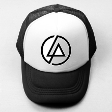 Popular Linkin Park Baseball Cap Men Women Girl Boy Snapback Hat Hip Hop Cap Mesh Trucker Caps Radiohead Alternative Rock Band