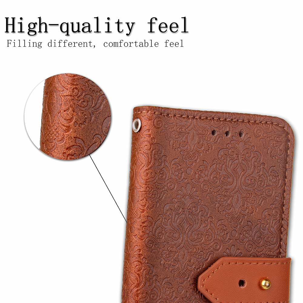 JohnDan For SAMSUNG Galaxy S9 S8 Plus S9+ S6 S7 edge Note 8 5 4 3 A3 A5 A7 2017 J5 2016 J7 J2 Prime J3 Leather Flip Case Cover