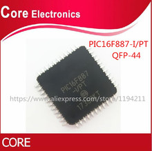 50 قطعة/الوحدة PIC16F887 I/PT PIC16F887 16F887 TQFP44