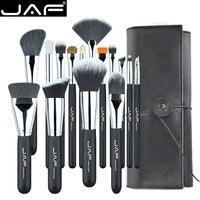 JAF 15 шт. кисти для макияжа инструменты, удобно портативный набор кистей для макияжа, брендовый набор косметики, Бесплатная Прямая доставка ...