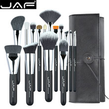 JAF набор кистей для макияжа, 15 шт., удобный переносной набор кистей для макияжа, брендовый косметический набор для макияжа, бесплатная доставка, Прямая поставка